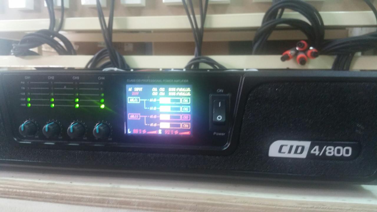 Công suất đẩy JA CID4800