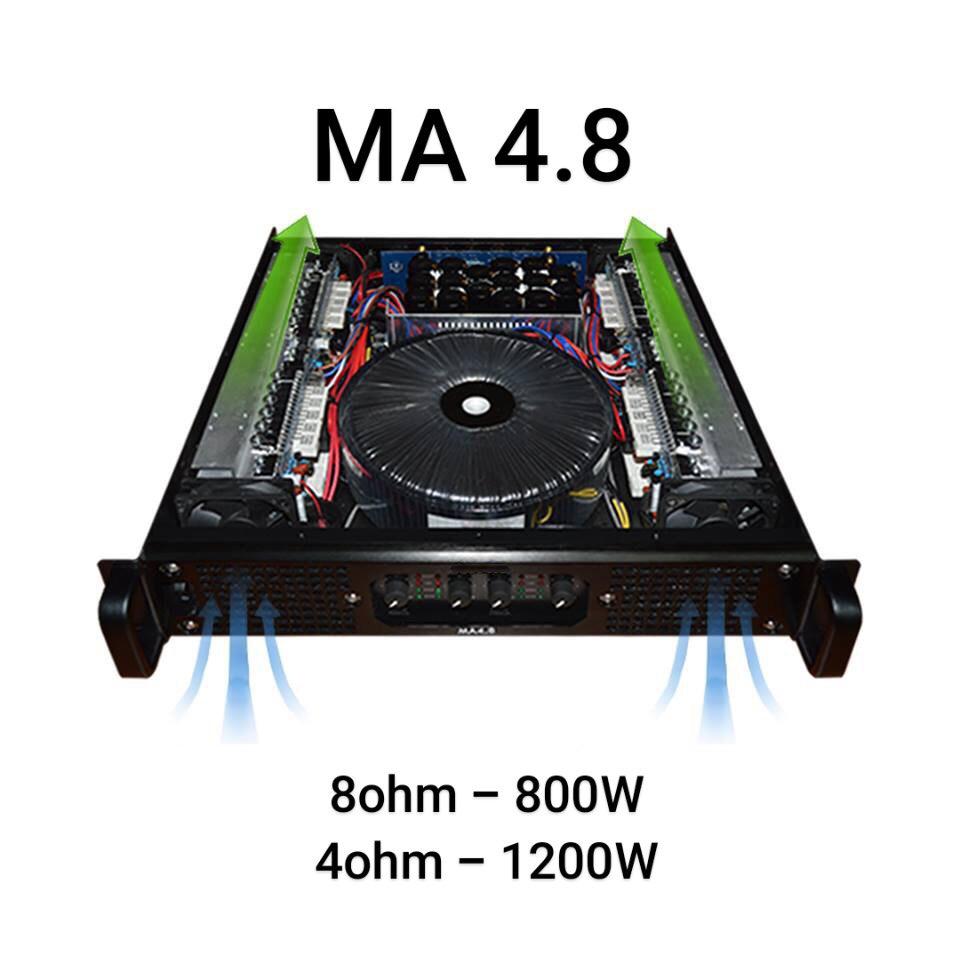 Công suất đẩy MA 4.8