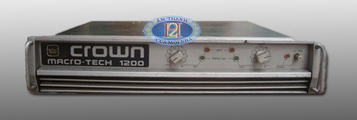 Công suất hàng bãi - Crown Macoro-tech 1200 nguyên bản