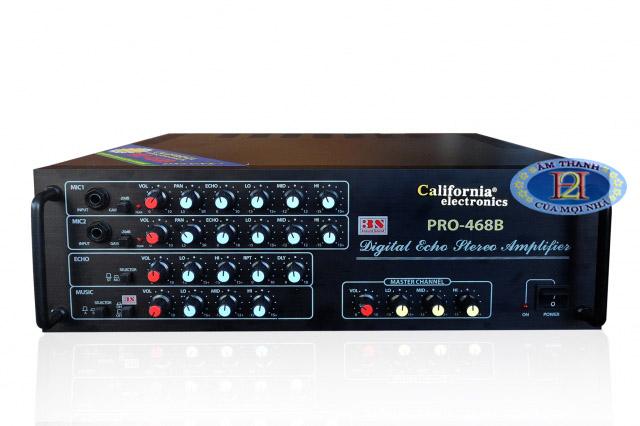 Amply California Pro-468B - Ấn tượng từng chi tiết
